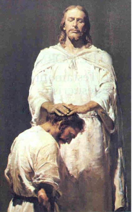 yesus maksa minta disepong ama Yohannes Jesus_ordaining2